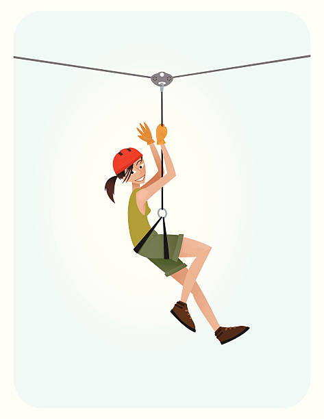 D Line Drawings Zip : Zip line clip art vector images illustrations istock