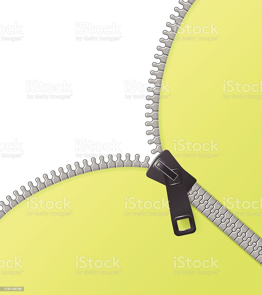 Zipper vector background green royalty-free stock vector art