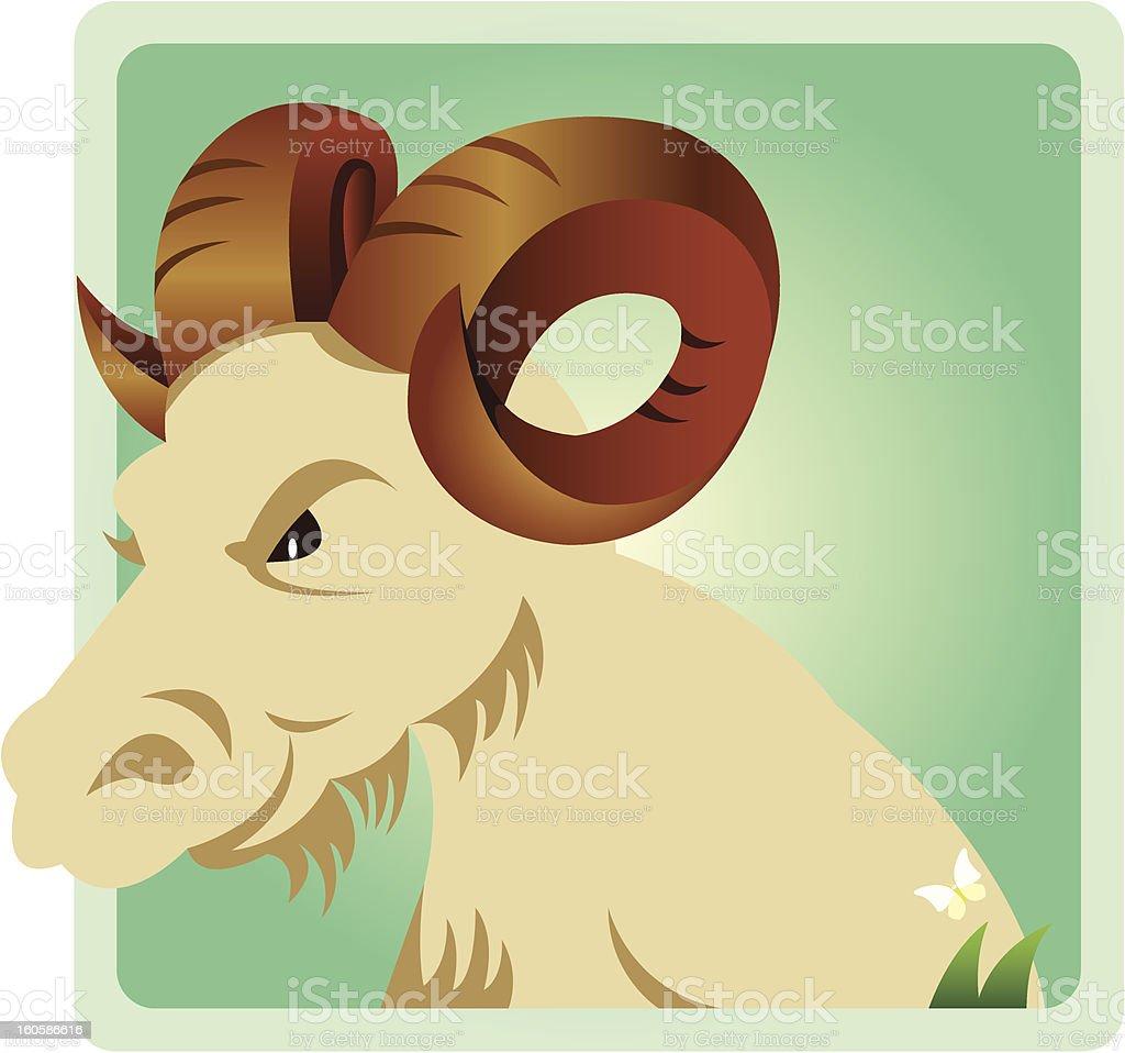 zodiac capricorn royalty-free stock vector art