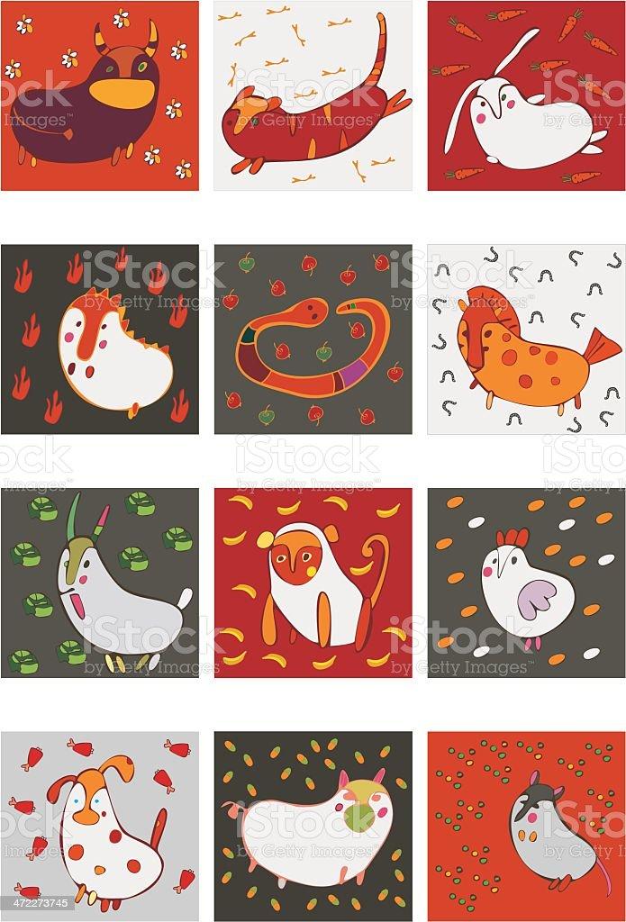 zodiac sign royalty-free stock vector art