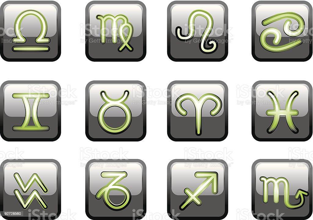 Zodiac royalty-free stock vector art