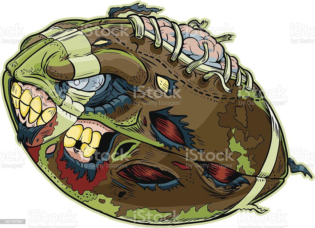 Zombie de dessin anim vectorielles stock vecteur libres de droits 452197087 istock - Dessin football americain ...