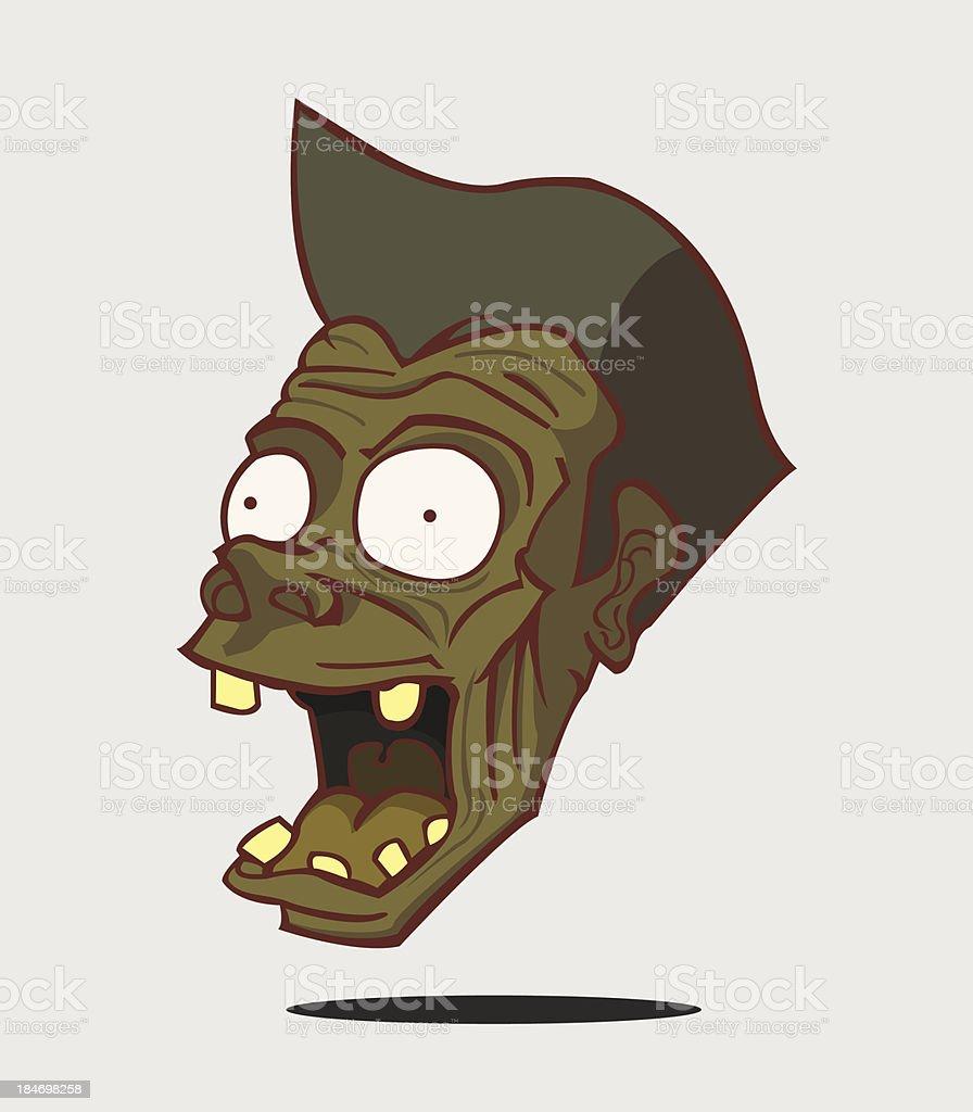 Zombie. Halloween Monster royalty-free stock vector art