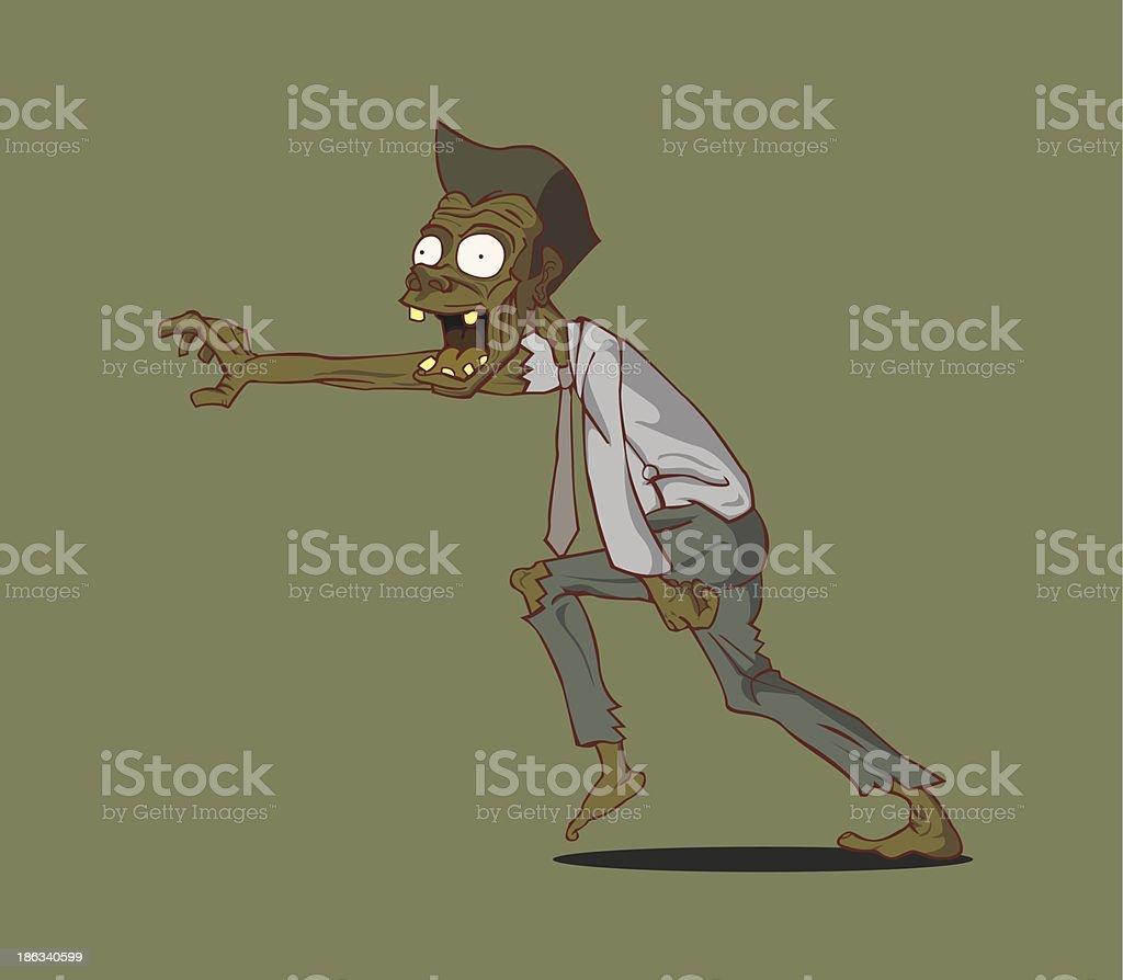 zombie halloween royalty-free stock vector art