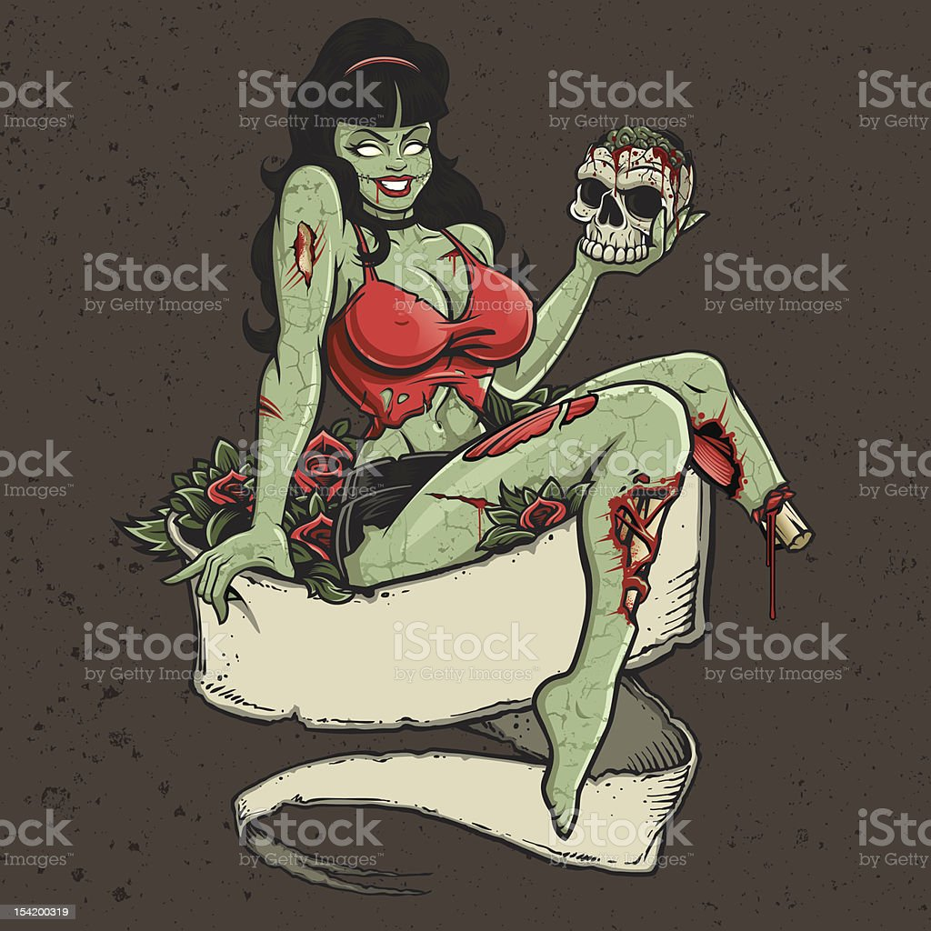 Sexy naked zombie girls sexy comics