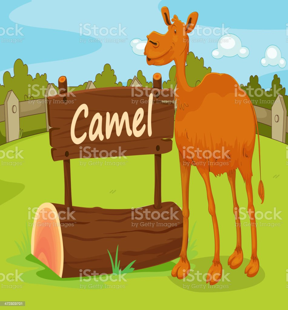 Zoo animal royalty-free stock vector art