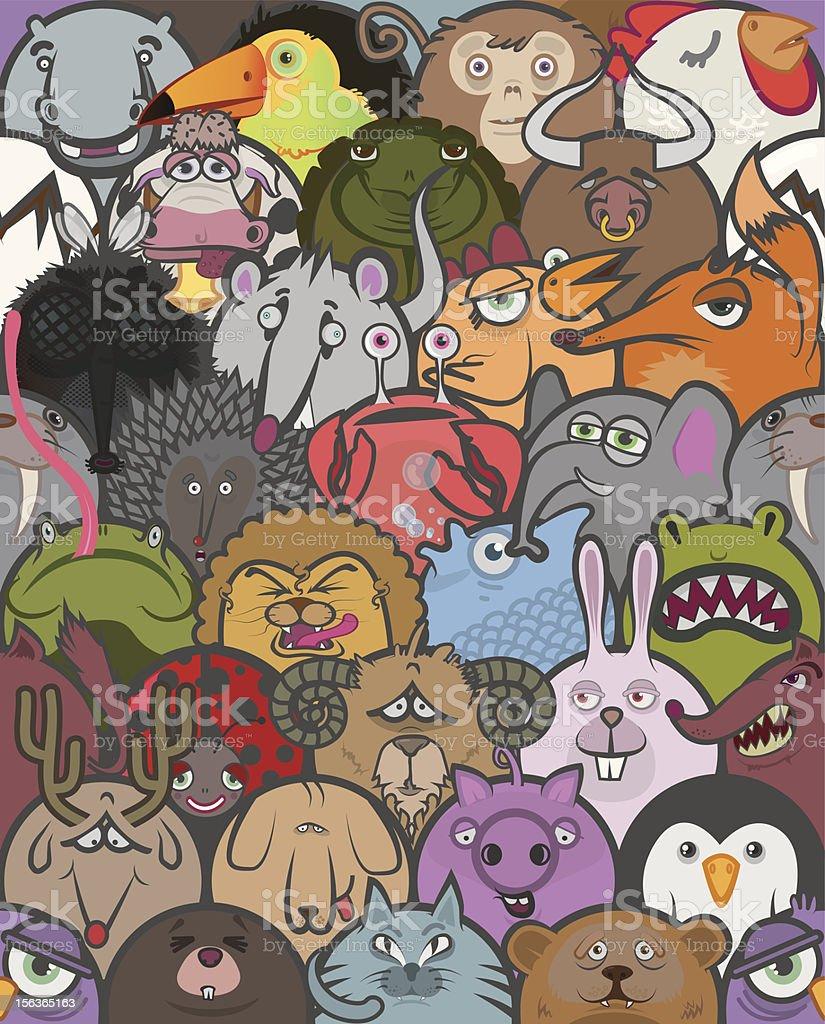 Zoo vector art illustration