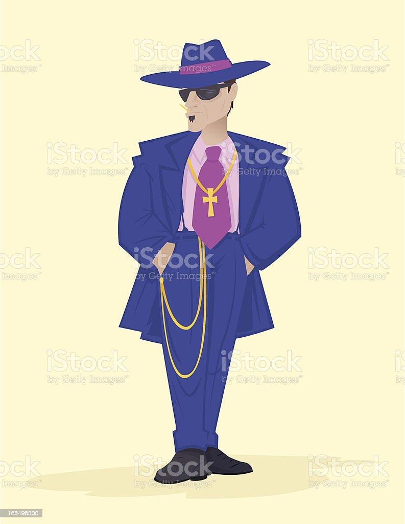 Zoot Suit royalty-free stock vector art