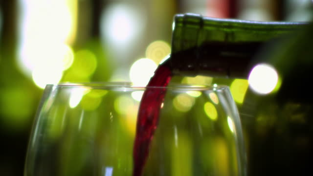 WINE POUR/BOTTLES-RED-1080HD video