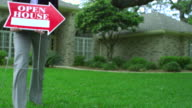 OPEN HOUSE FOR SALE-REALTY SIGN-1080HD video