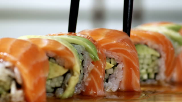 SUSHI PIECES-4 SHOTS-1080HD video