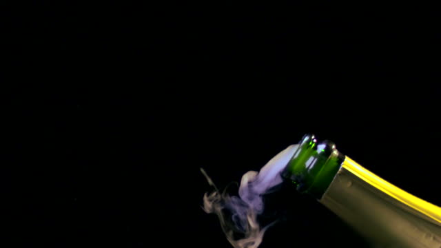 CHAMPAGNE CORK EXPLODING-SLOW MOTION-1080HD video