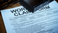 WORK INJURY CLAIM FORMS-1080HD video