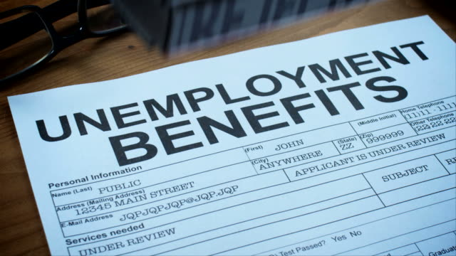 UNEMPLOYMENT BENEFITS FORMS-1080HD video