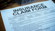 INSURANCE CLAIM FORM-1080HD video
