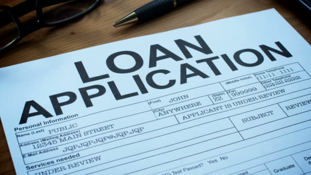 LOAN APPLICATION FORM-1080HD video