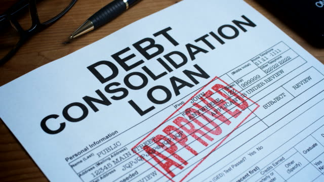DEBT CONSOLIDATION FORM-1080HD video