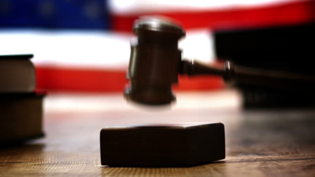 GAVEL-TABLE-FLAG video