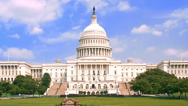 WASHINGTON D.C. - CAPITOL BUILDING 01CU video