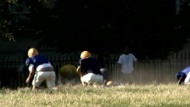 FOOTBALL PRACTICE (HD/DV) video