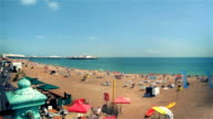 BRIGHTON SEAFRONT SUMMER TIMEPLASE video