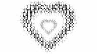 HEART SHAPE : (LOOP) video