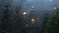 RAIN ON WINDOW 4 video