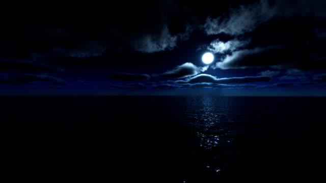SEA MOON LANDSCAPE (HD) video