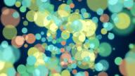 BIG COLORS PARTICLES - LOOP HD video