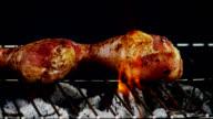 BBQ CHICKEN-SLOW MOTION video