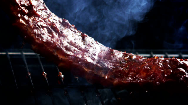 RACK OF RIBS- SLOW MOTION video