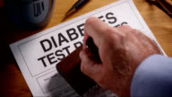 DIABETES TEST FORM- STAMPED video