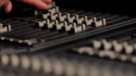 MIXING CONSOLE HD video