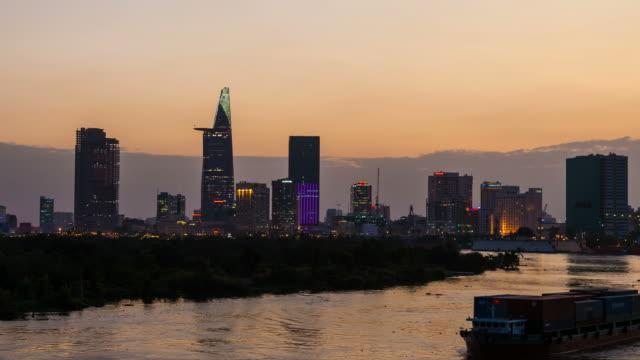 SUNSET TIMELAPSE - HO CHI MINH CITY SKYLINE video