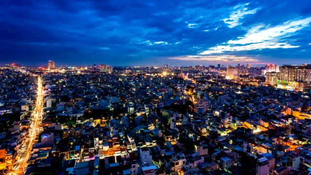 SKYLINE - HO CHI MINH CITY, VIETNAM video