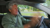 MAN 'ROCKS OUT' WHILE DRIVING video