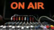 MIXER FADERS 'ON AIR' video