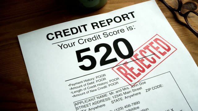 LOW CREDIT SCORE-520 video