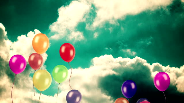 BALLOONS TO SKY video