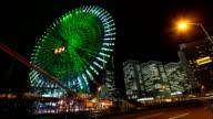 YOKOHAMA FERRIS WHEEL TIMELAPSE - TOKYO video