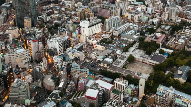 TOKYO AERIAL VIEW TIMELAPSE - JAPAN video