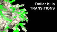 VIDEO TRANSITION SET - DOLLAR BILLS video