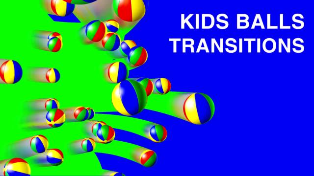 VIDEO TRANSITION SET 'KIDS BALLS' video