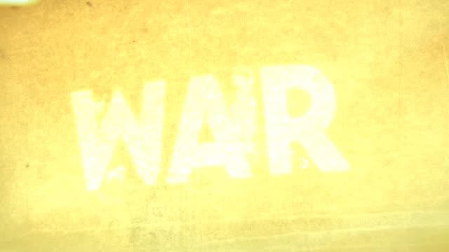 WAR, BATTLE, COMBAT (Titles) video