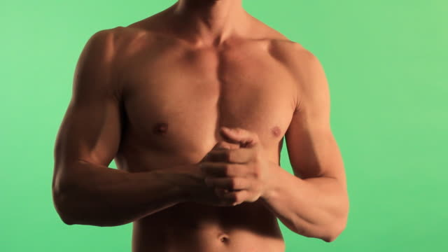 Мuscular man video