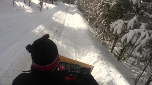 HD 1080i ATV Snow Plowing 1 video