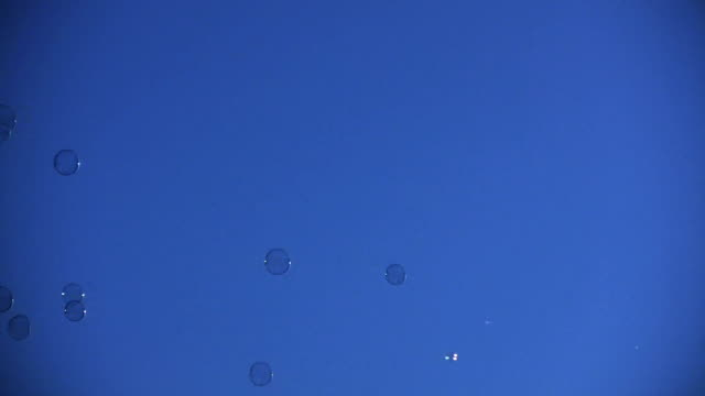 HD 1080i Bubbles in the Sky video