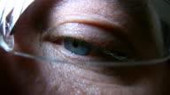 HD 1080i Closeup of Eyeball 3 video