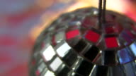 HD 1080i Closeup of small mirrorball video