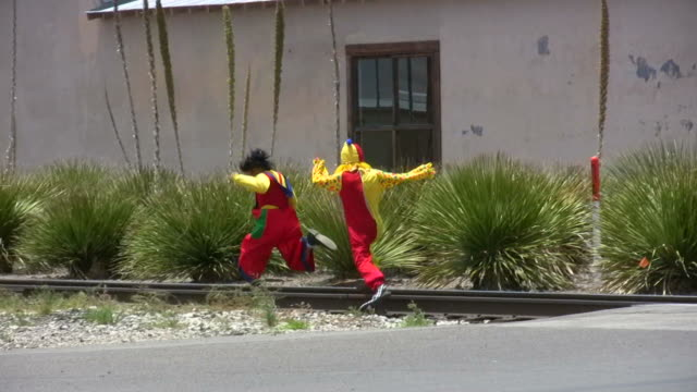 HD 1080i Clowns Chased video